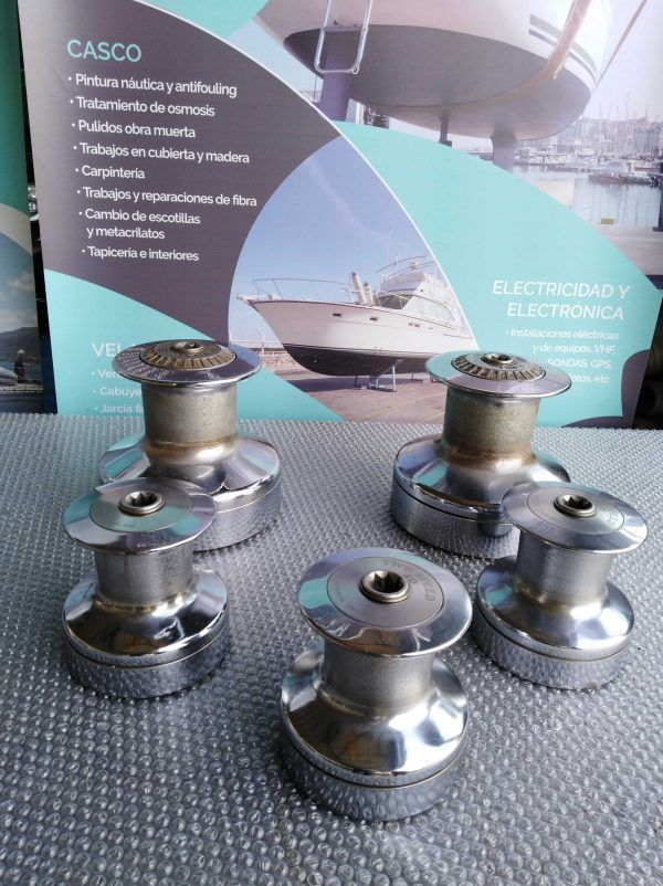 WINCHES LEWMAR STD BRONCE