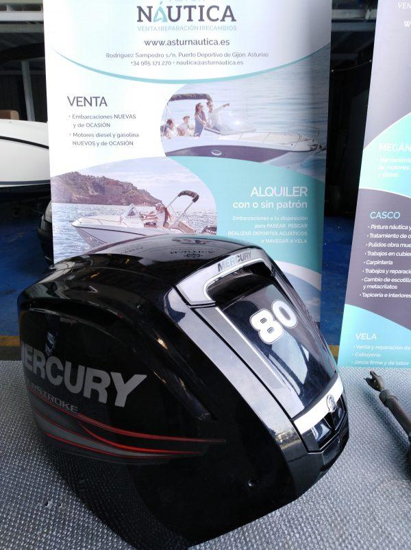 CARCASA MOTOR MERCURY F80