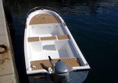 Bote para pescar EO500