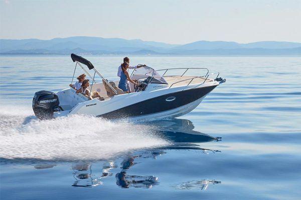 Proa barco Quicksilver 675 sundeck