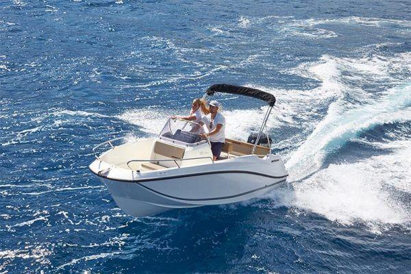 Proa barco Quicksilver 505 open