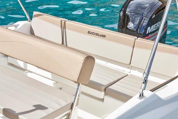 colchonetas bañera en barco Quicksilver 505 open en venta