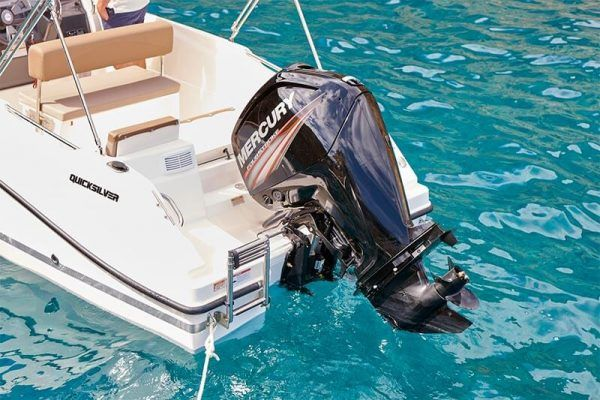 Motor mercury en barco Quicksilver 505 open