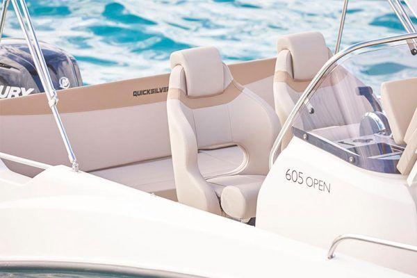 asientos barco quicksilver 605 open en venta