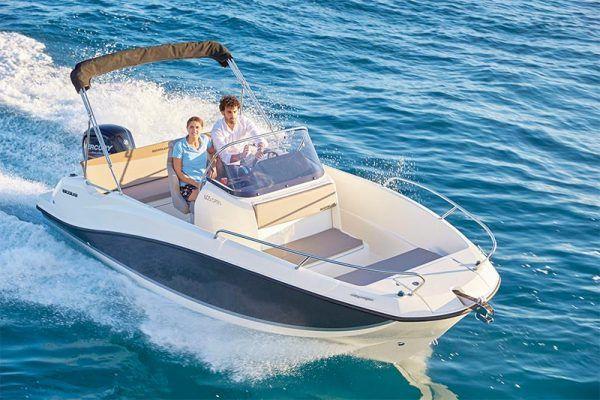 proa barco quicksilver 605 open