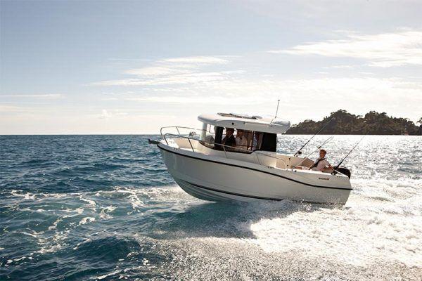 El barco perfecto para la pesca