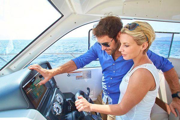 mandos barco Quicksilver 755 weekend
