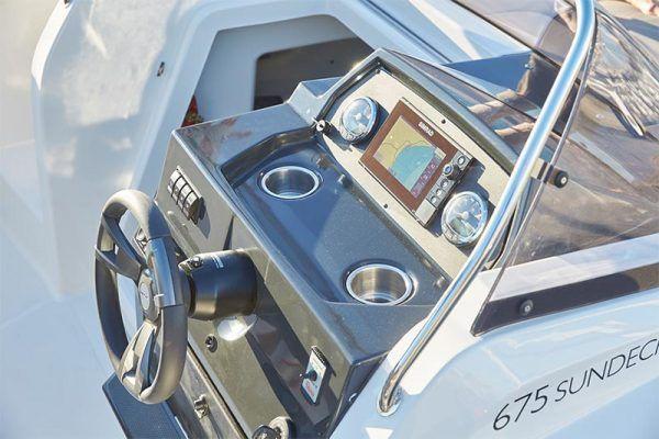 mandos de barco pesca Quicksilver 675 sundeck