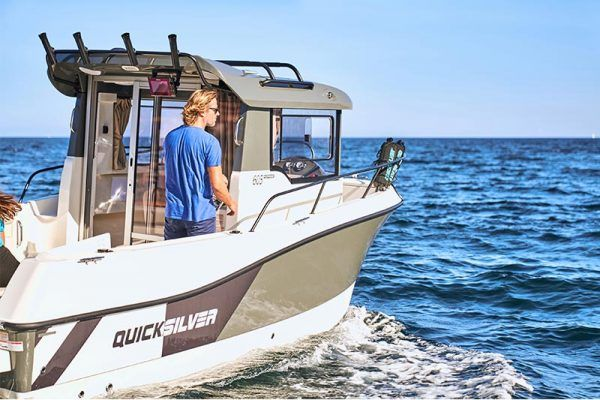 Barco perfecto para la pesca Quicksilver 605 pilothouse