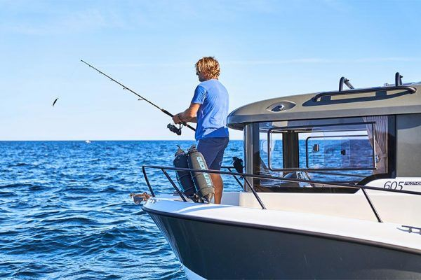 Barco para pesca Quicksilver 605 pilothouse
