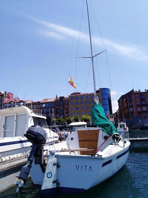 Barco Velero Ocasion Asturias 6 metros restaurado