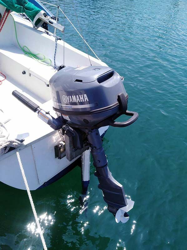Barco Velero Ocasion Asturias motor fueraborda Yamaha