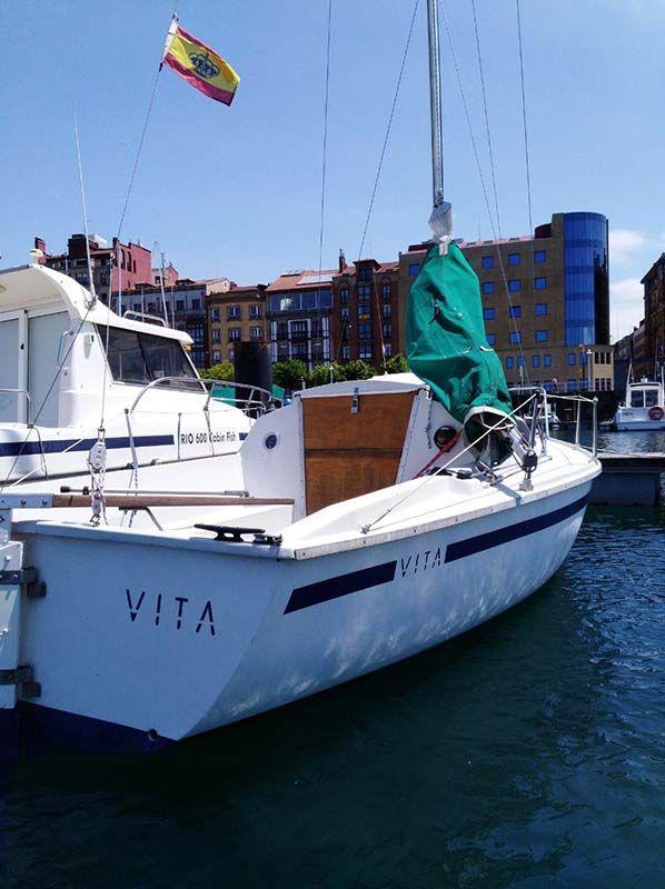 Barco Velero Ocasion Asturias para 4 personas