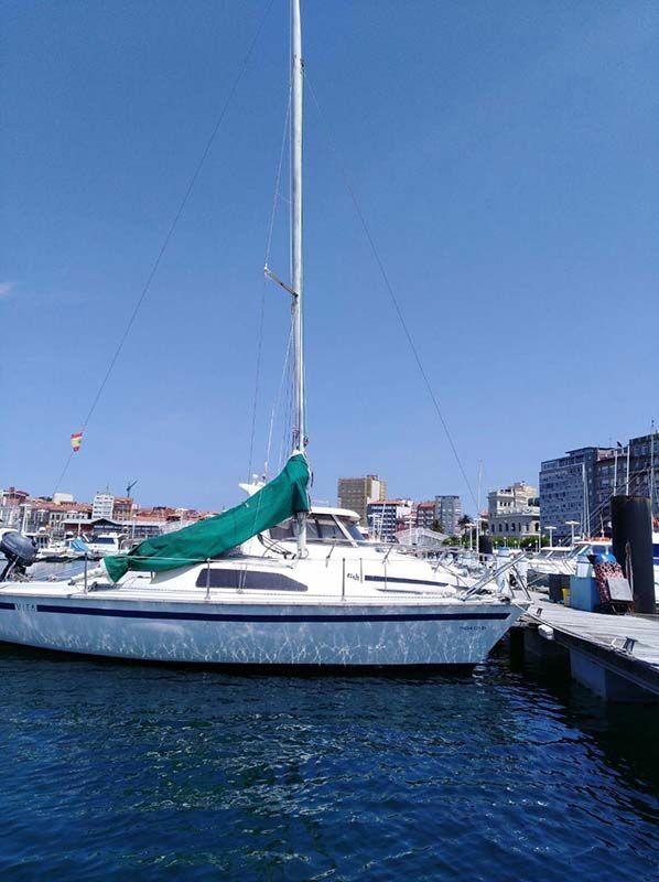 Barco Velero Ocasion Asturias perfectas condiciones