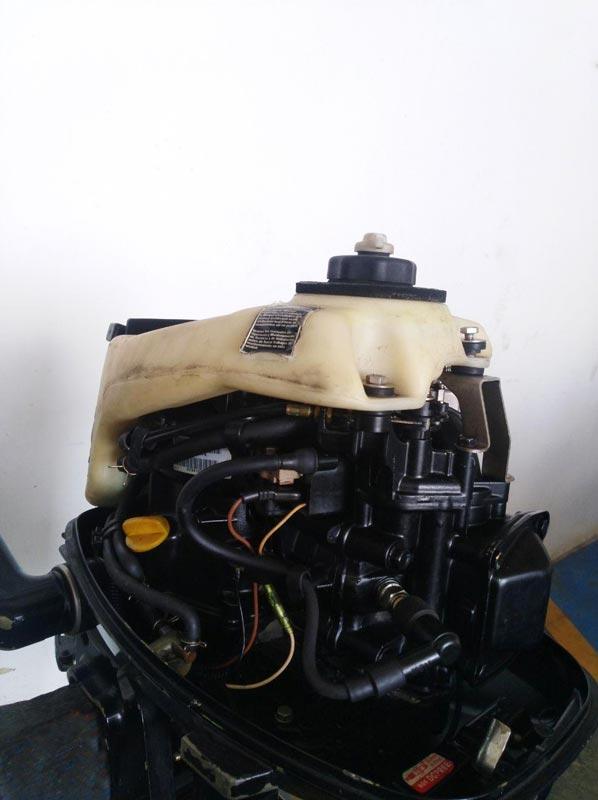 Motor fueraborda ocasion F4 ML Fourstroke venta ocasión en gijón Asturias