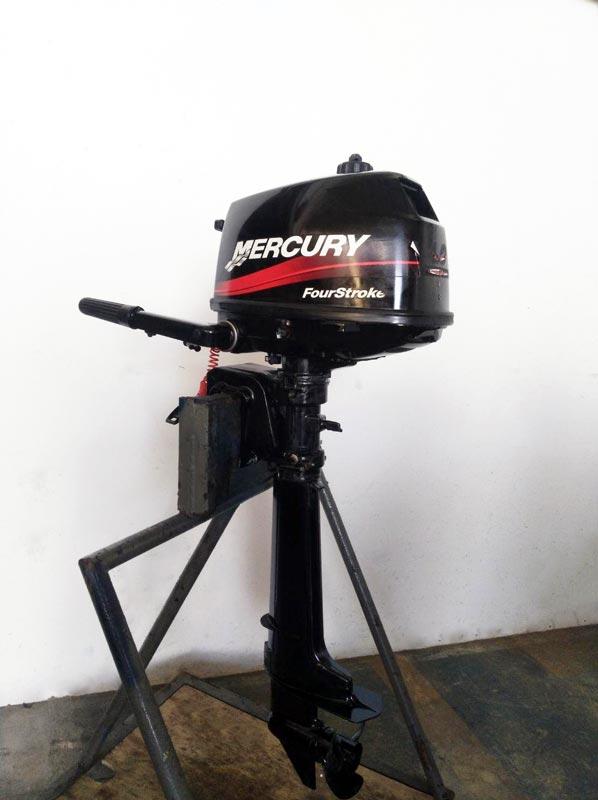 Motor fueraborda Mercury F4 ML Fourstroke de ocasión venta en gijón asturias